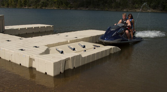 EZ Port Max With Bow | At Ease Dock & Lift - Detroit Lakes, MN