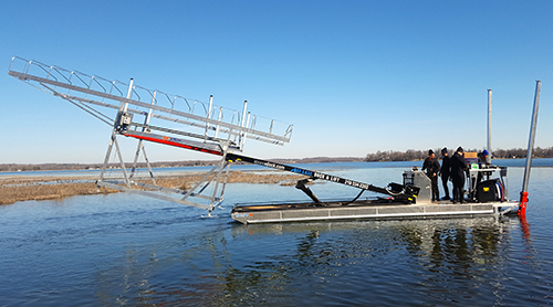 Barge Service For Boat Lifts Amp Docks In Detroit Lakes Mn