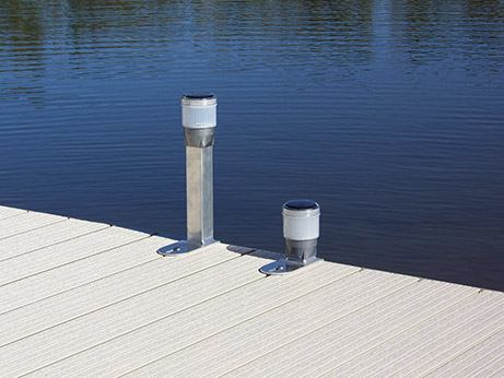 solar dock lights at ease dock lift detroit lakes mn. Black Bedroom Furniture Sets. Home Design Ideas